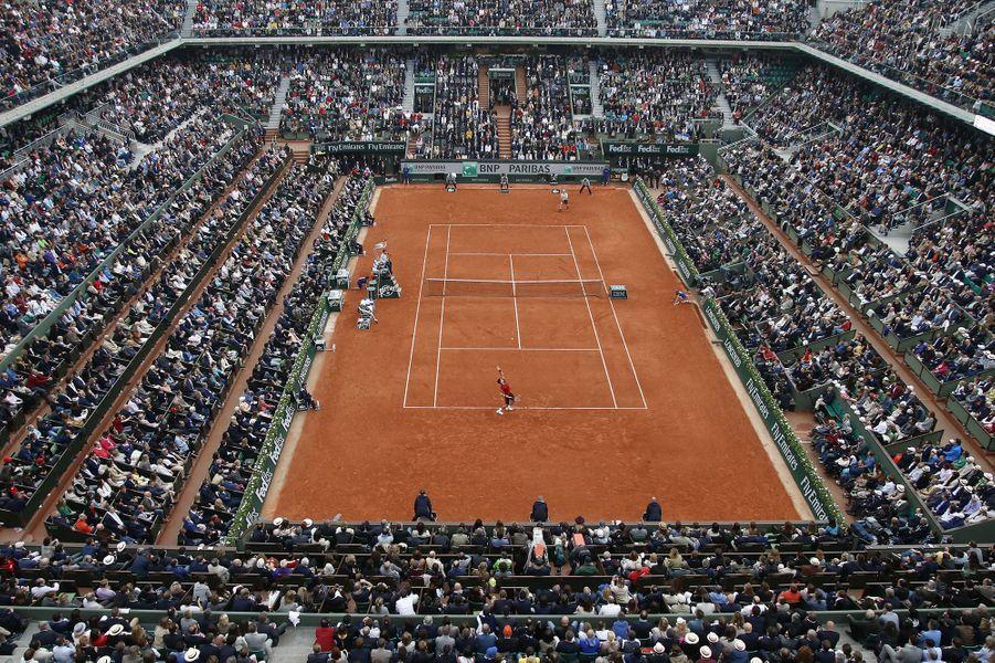 22 mai 2017 : début des Internationaux de France de tennis à Roland-Garros.