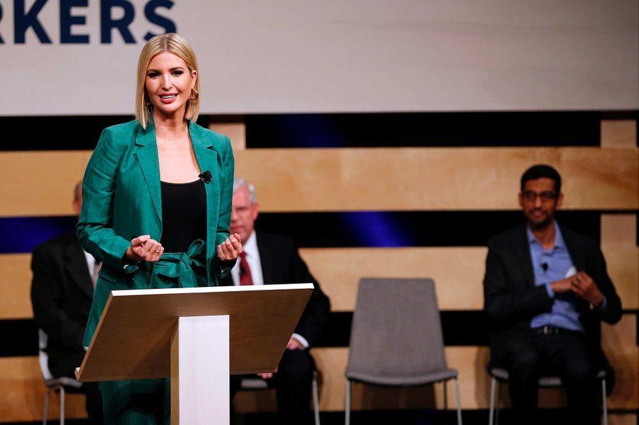 Ivanka Trump à l'université El Centro de Dallas, au Texas, le 3 octobre 2019.