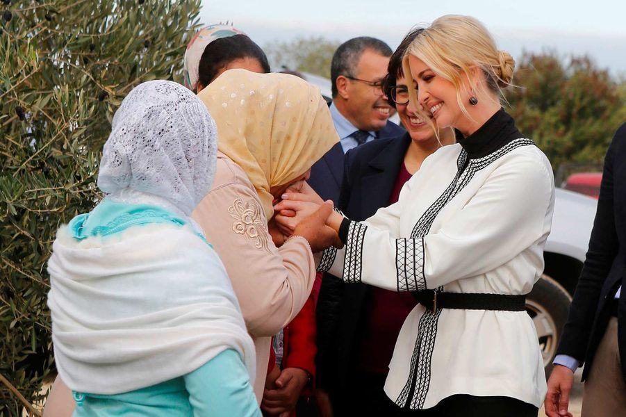 Ivanka Trump à Sidi Kacem, au Maroc, le 7 novembre 2019.
