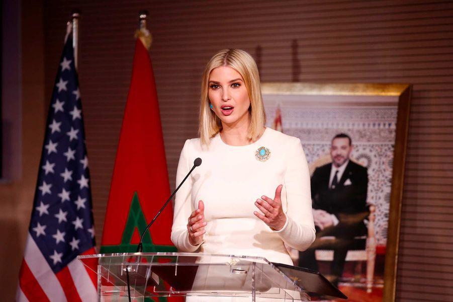 Ivanka Trump à Sale, au Maroc, le 8 novembre 2019.
