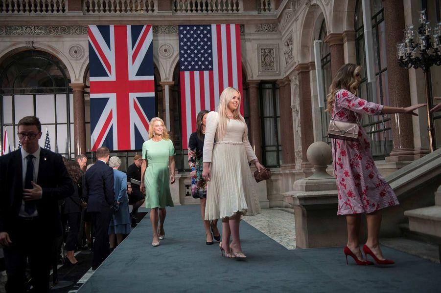 Tiffany Trump au Foreign & Commonwealth Office de Londres, le 4 juin 2019.