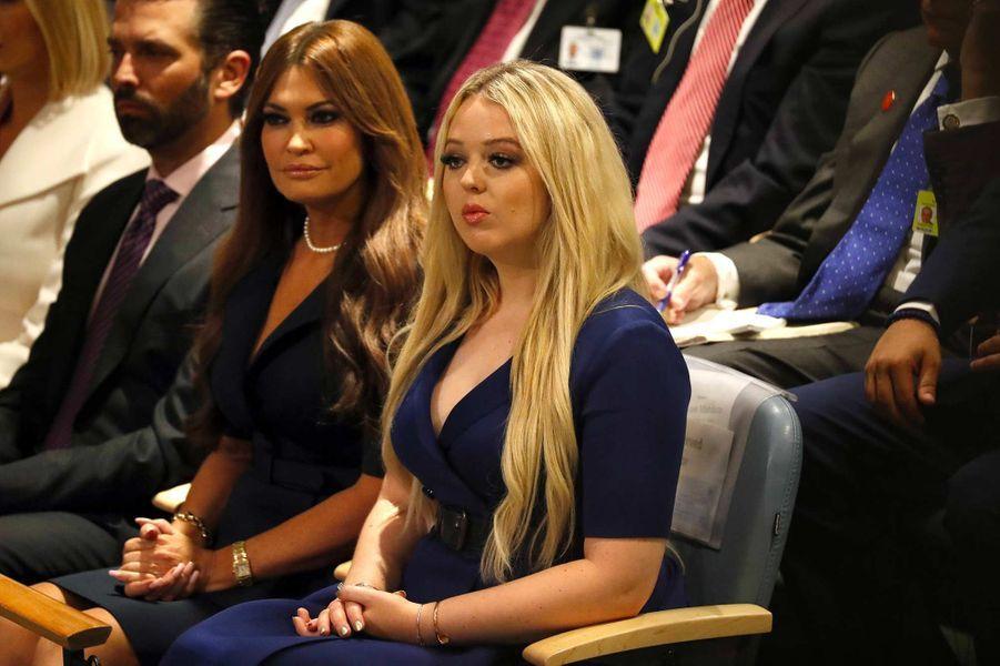 Kimberly Guilfoyle et Tiffany Trump lors du discours de Donald Trump à l'Assemblée générale des Nations unies, le 24 septembre 2019.