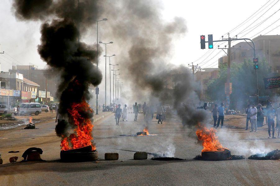 Manifestation à Khartoum, au Soudan, le 3 juin 2019.