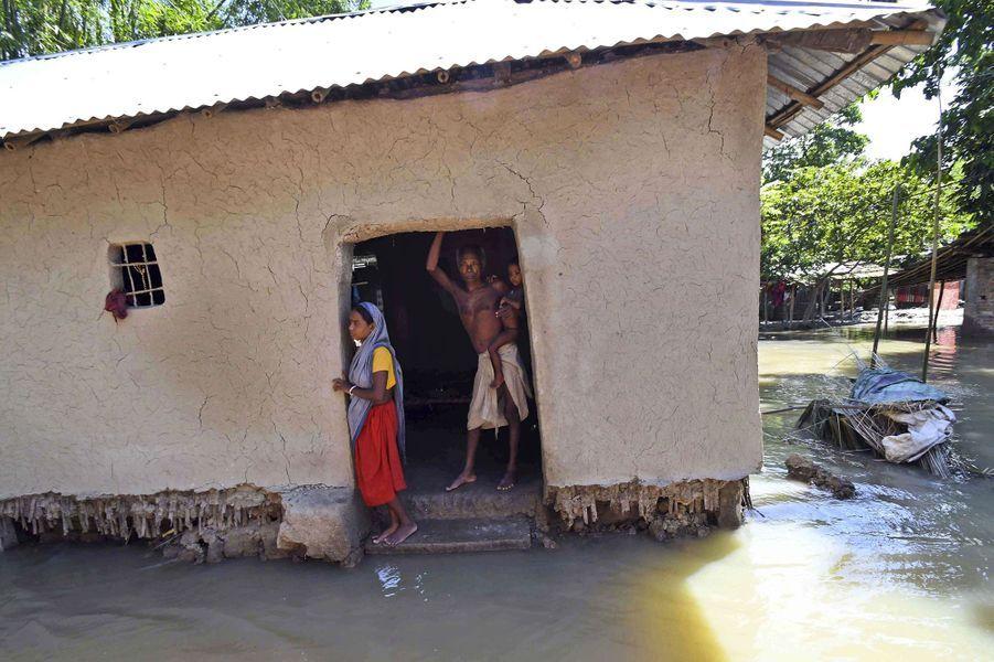 Des millions de personnes sont affectées par les inondations dans le Bihar, en Inde.