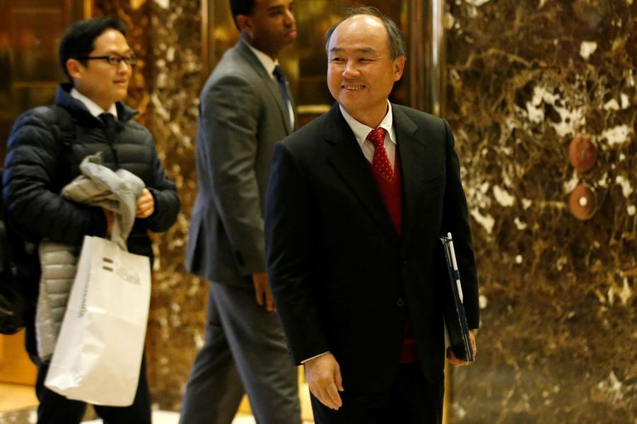 Masayoshi Son, le PDG de SoftBank Group, à New York, le 6 décembre 2016.