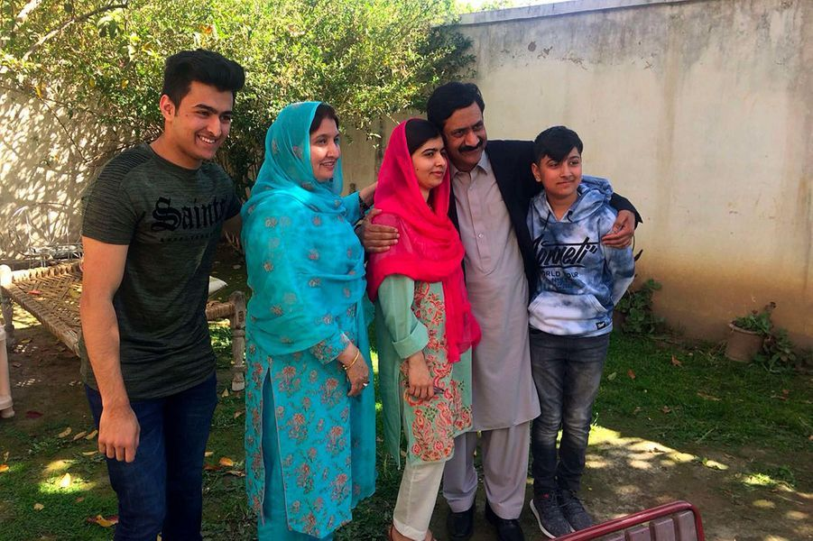 Malala dans la vallée de Swat, au Pakistan, le 31 mars 2018.