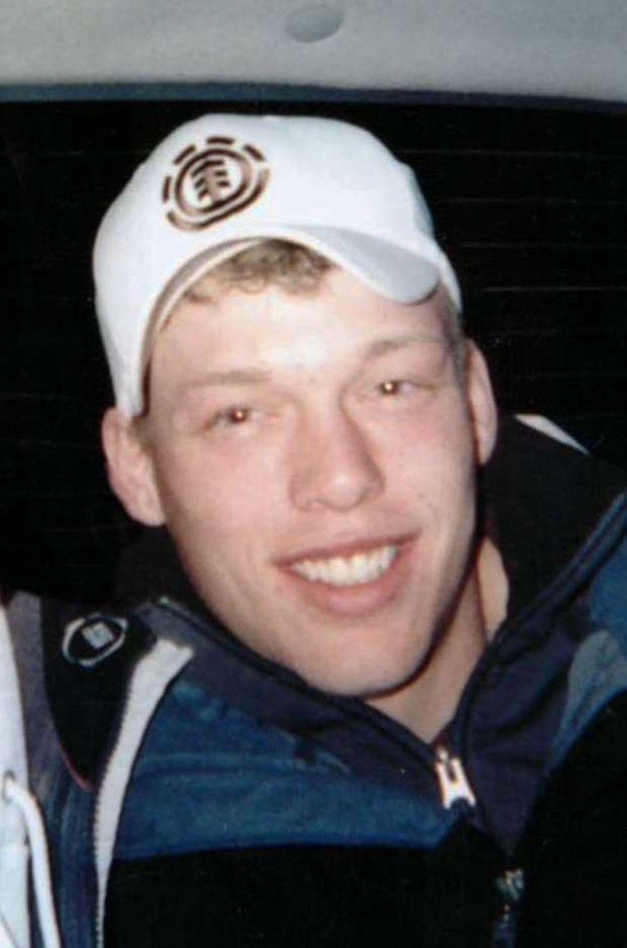 Andy Sandness avant sa tentative de suicide.