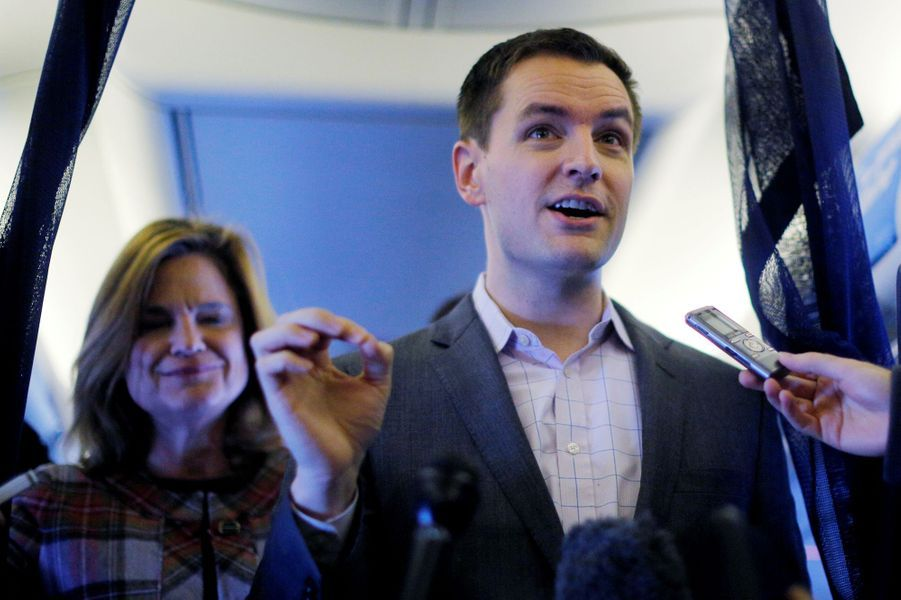 Robby Mook, manager de la campagne d'Hillary Clinton.
