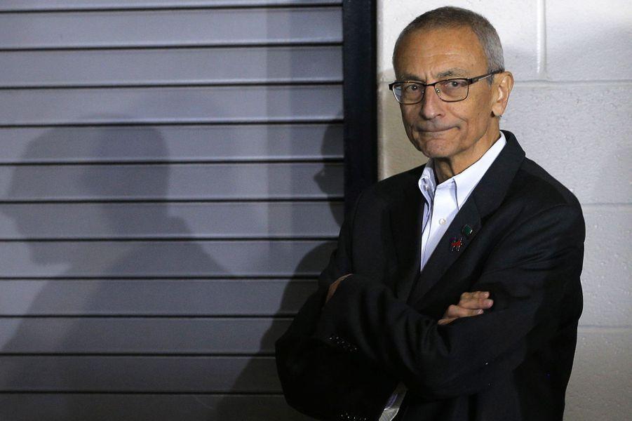 John Podesta, le directeur de campagne d'Hillary Clinton.