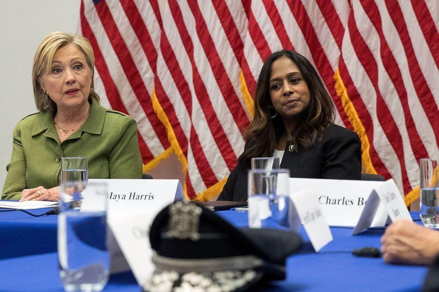 Maya Harris, conseillère politique de la campagne d'Hillary Clinton.