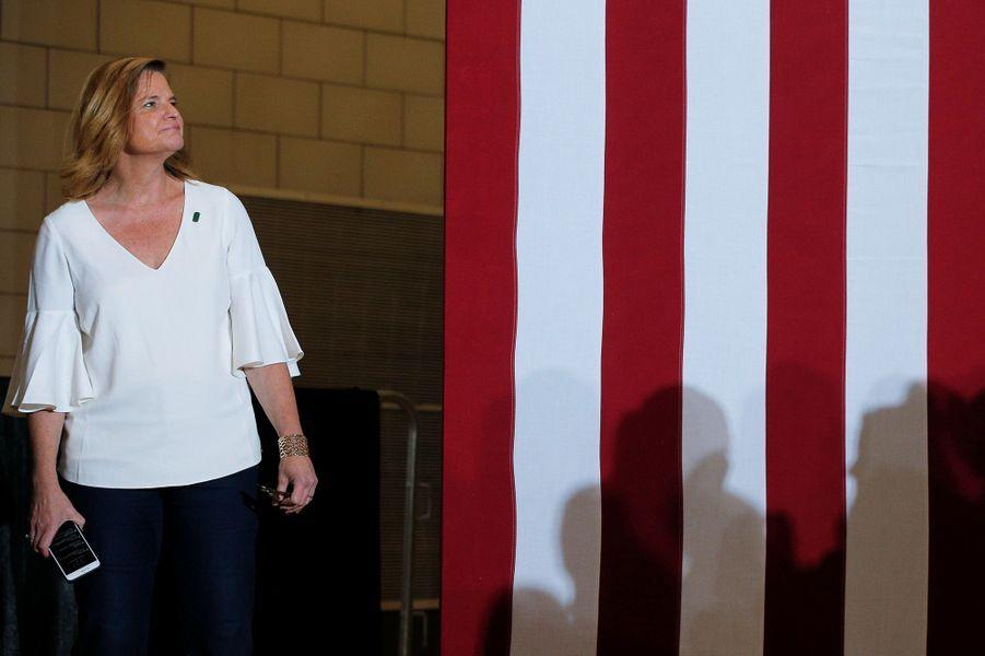Jen Palmieri, directrice de la communication d'Hillary Clinton.