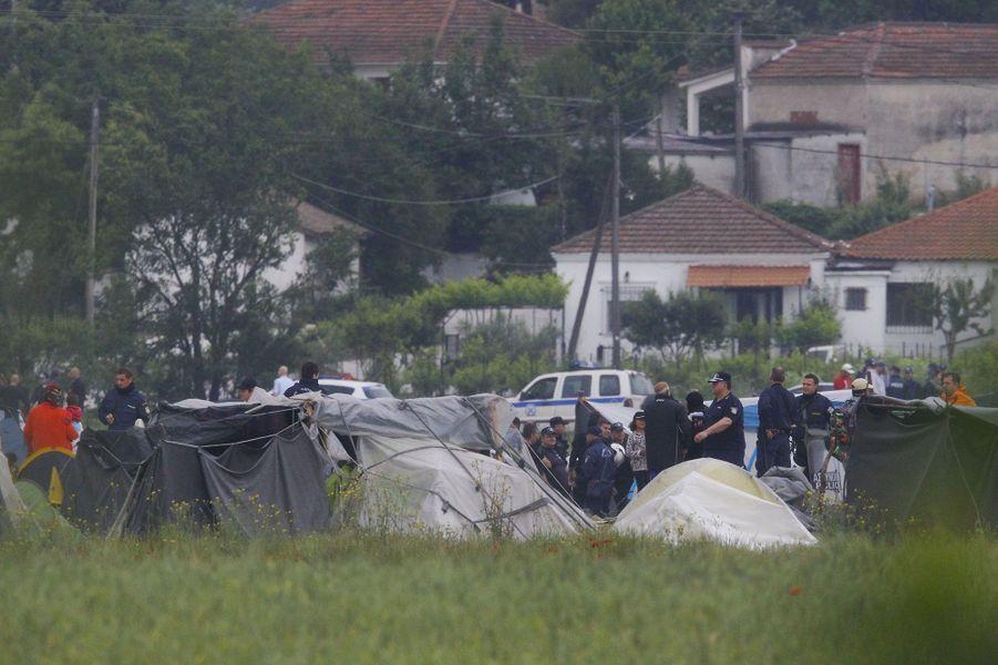 Plus de 8000 migrants vivent dans ce camp de fortune dans des conditions précaires