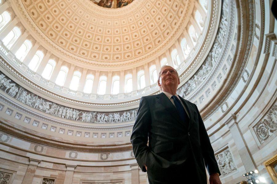Mitch McConnellau Capitole, à Washington, le 31 août 2018.