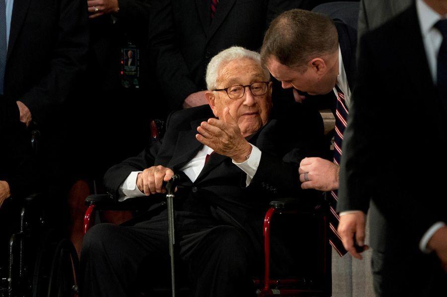 Henry Kissingerau Capitole, à Washington, le 31 août 2018.