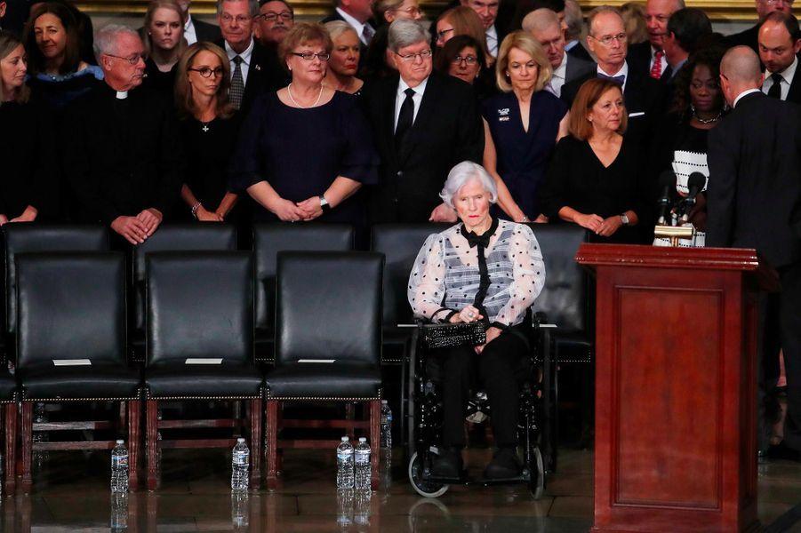 Roberta McCainau Capitole, à Washington, le 31 août 2018.