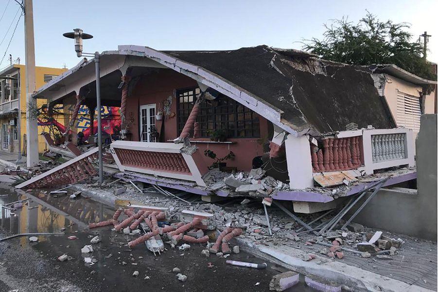 L'île de Porto-Rico a été frappée par une série de tremblements de terre dont le plus violent, mardi, a provoqué d'importants dégâts et au moins un mort et huit blessés.