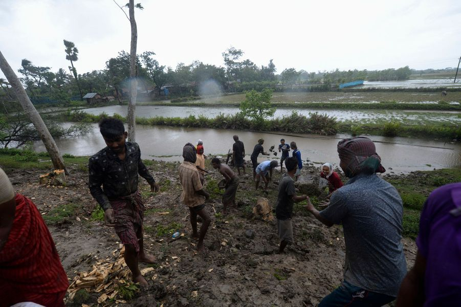 Dacope au Bangladesh, le 20 mai 2020.