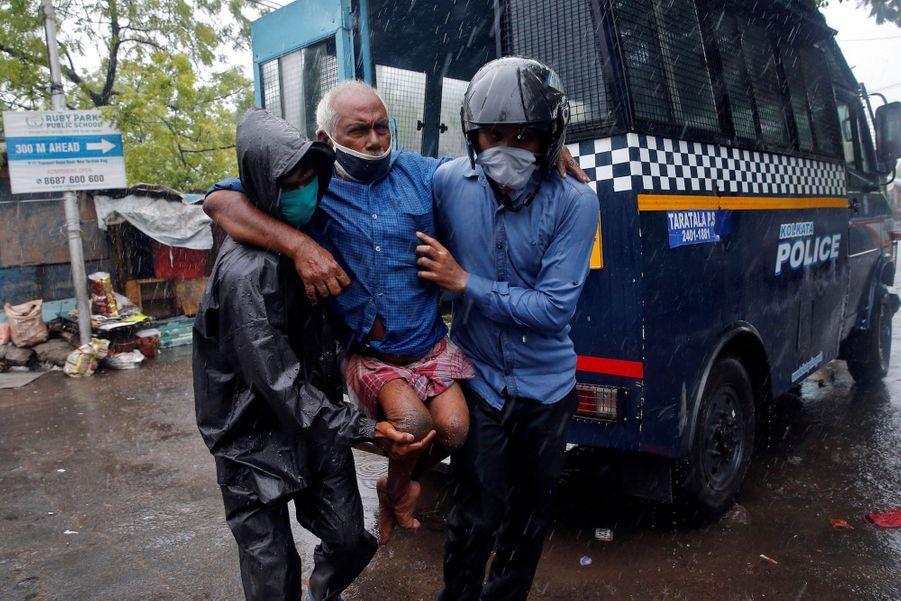 Calcutta en Inde, le 20 mai 2020.