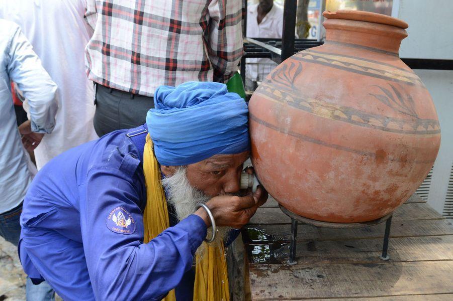 Des records de chaleur ont été atteints dans le nord de l'Inde.