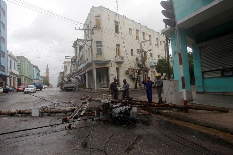 Irma a inondé la côte, y compris à La Havane