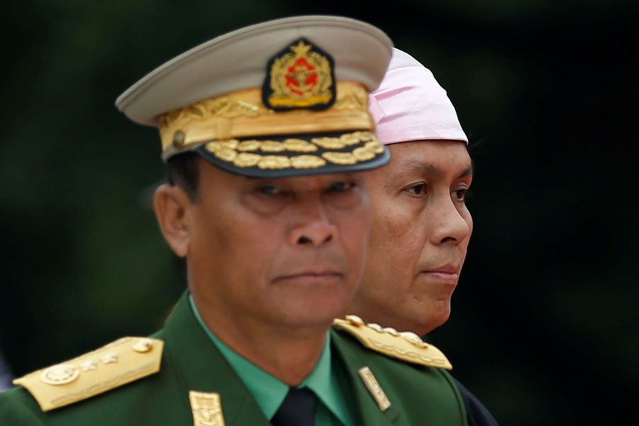 Hommage àAung San à Rangoun, le 19 juillet 2017.