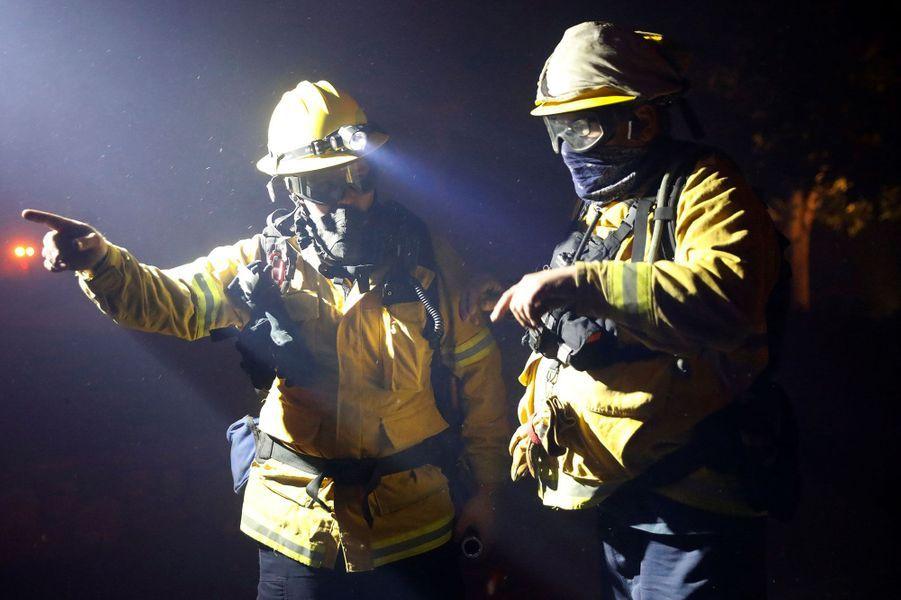 Des pompiers àGeyserville