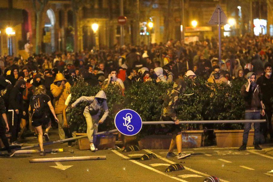 La Catalogne sous tension.