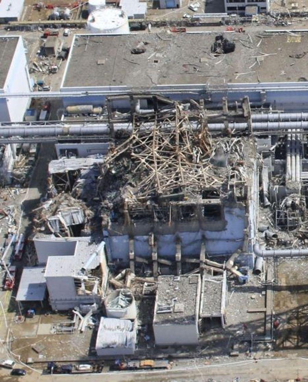 Le réacteur numéro 3, le 24 mars dernier.