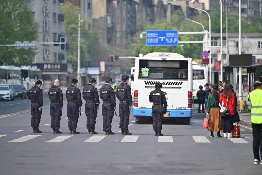 Wuhan, le 4 avril 2020.