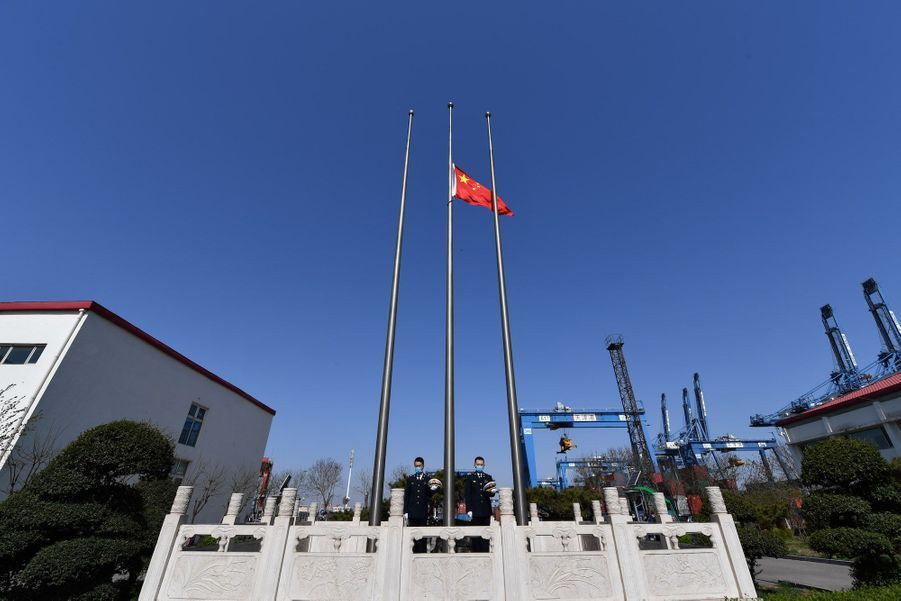 Tianjin, le 4 avril 2020.