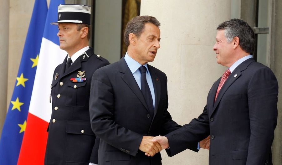 Le roi Abdullah de Jordanie