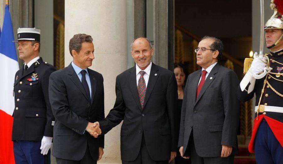 Mustafa Abdel Jalil et Mahmoud Jibril, du Conseil national de transition libyen, étaient bien sûr présents.