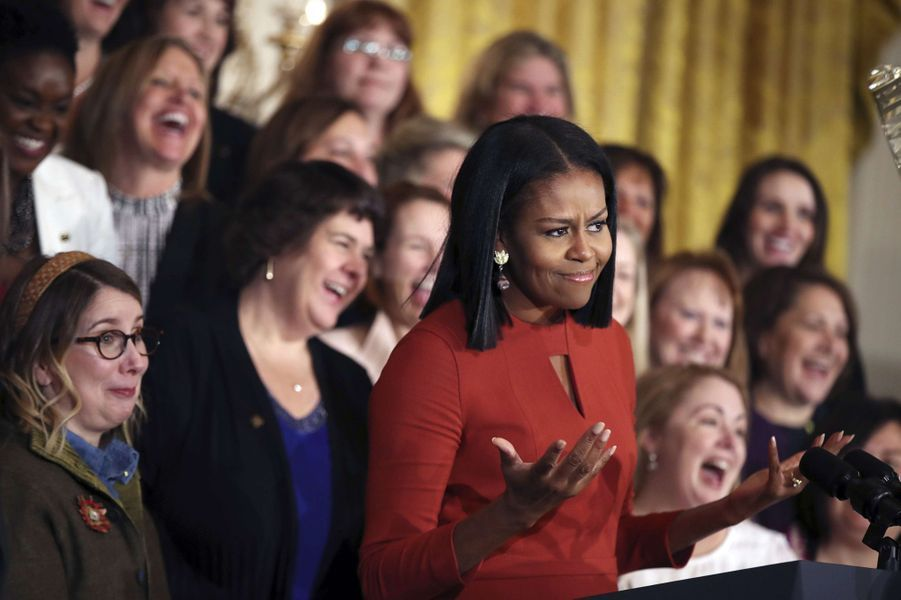 L'ultime discours de Michelle Obama à la Maison Blanche