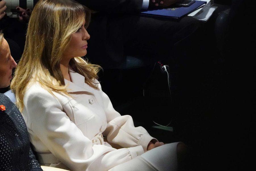 Melania Trump lors de l'Assemblée générale des Nations unies à New York, le 24 septembre 2019.