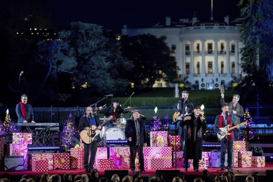 Les Beach Boys à Washington, le 30 novembre 2017.