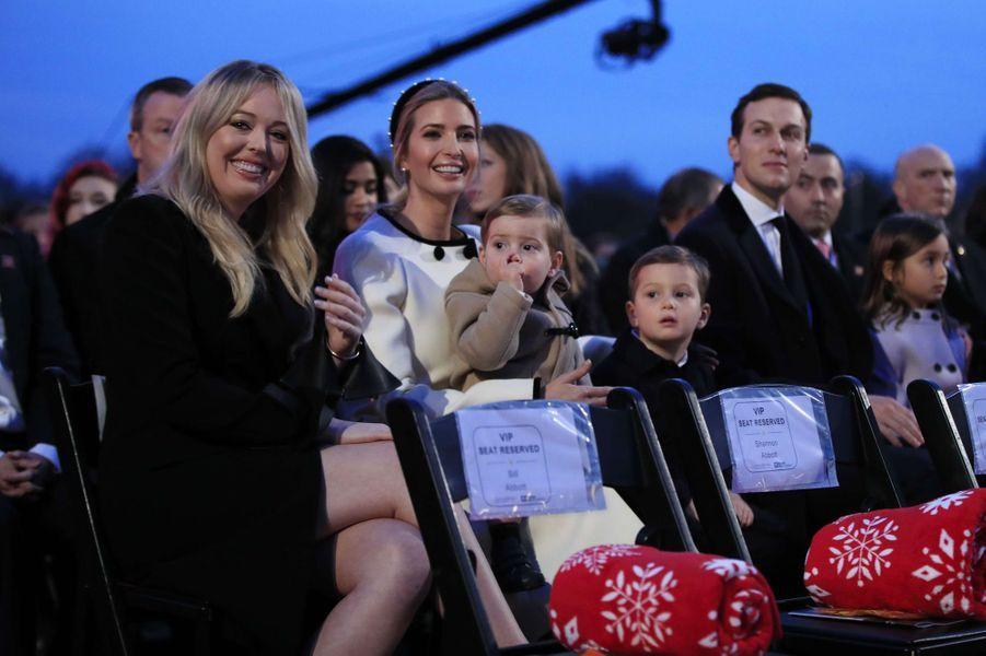 Tiffany Trump,Ivanka Trump et Jared Kushnerà Washington, le 30 novembre 2017.