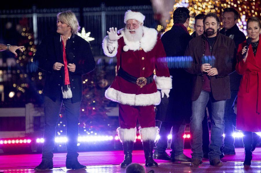 Le père Noël à Washington, le 30 novembre 2017.