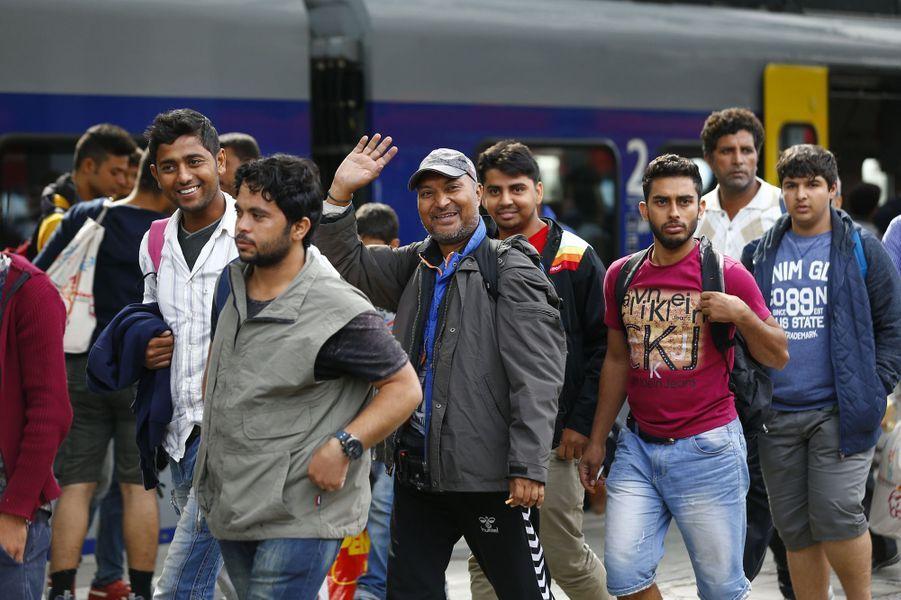 La fin du cauchemar pour les migrants