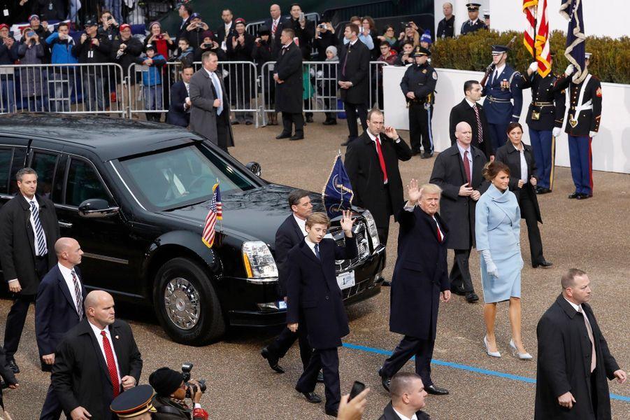 La marche triomphale de Donald Trump.