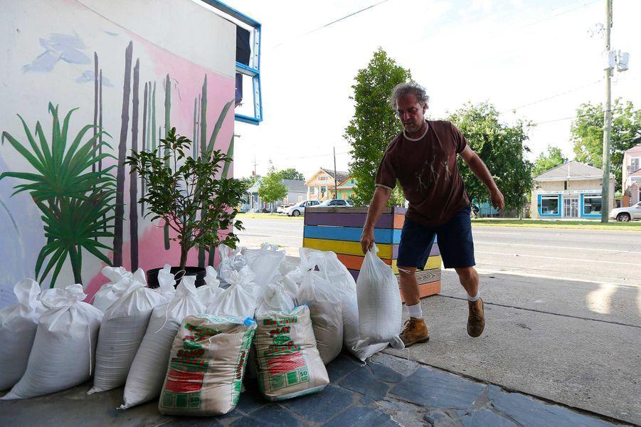 La Nouvelle-Orléans se prépare au possible ouragan Barry.