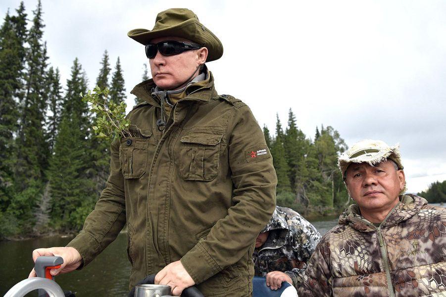Vladimir Poutine en Sibérie