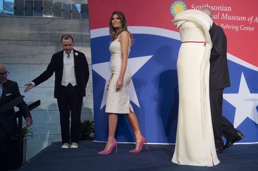 Melania Trump à Washington, le 20 octobre 2017.