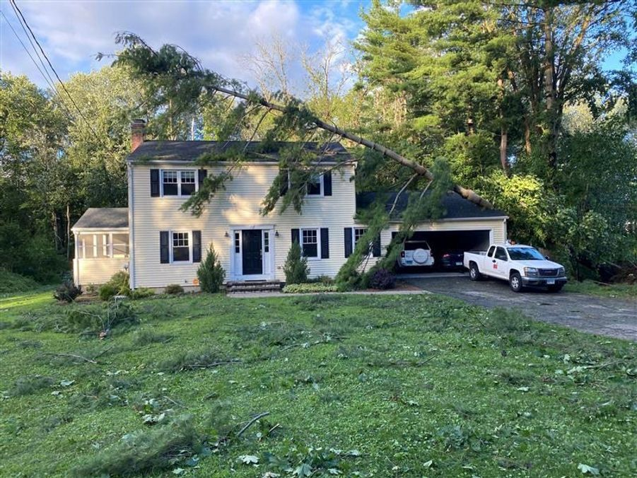 Une maison àNewtown dans le Connecticut.