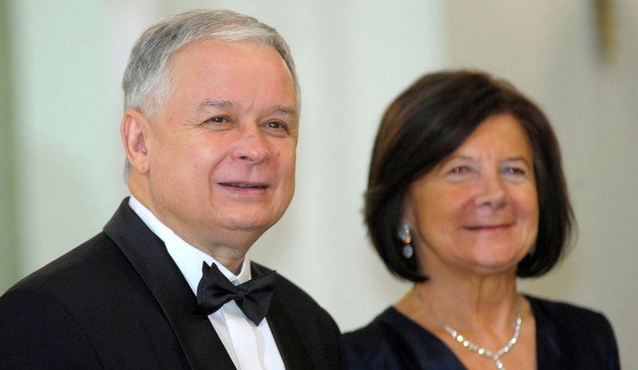 Lech et son épouse Maria