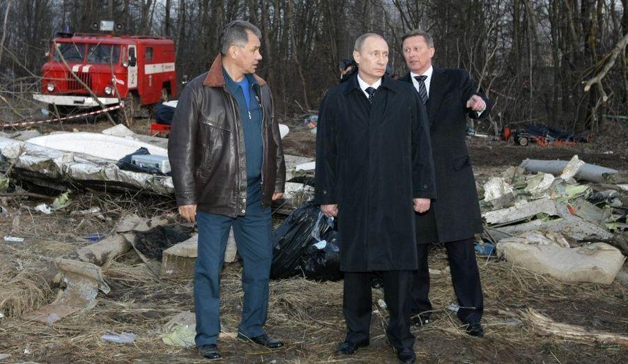 Poutine sur les lieux du drame