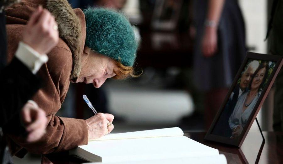 Signature du registre