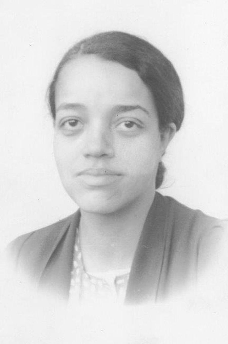 Dorothy Vaughan quand elle était jeune.
