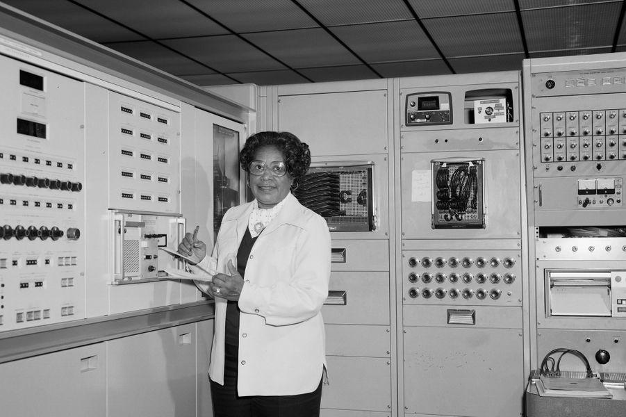 Mary Jacksonau centre de recherche de la Nasa à Langley.