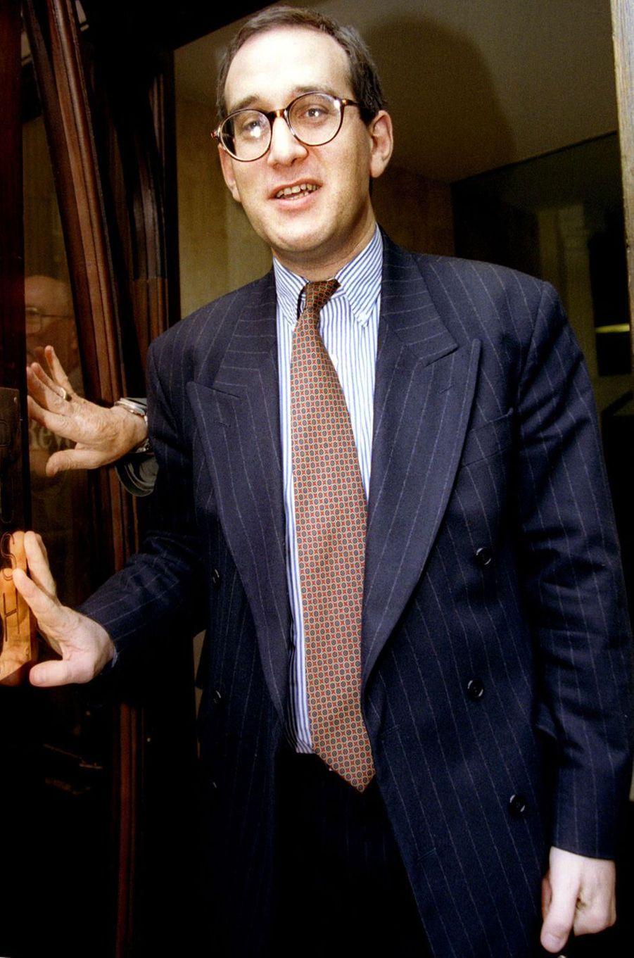 L'avocat Anthony Julius, en juillet 1996.