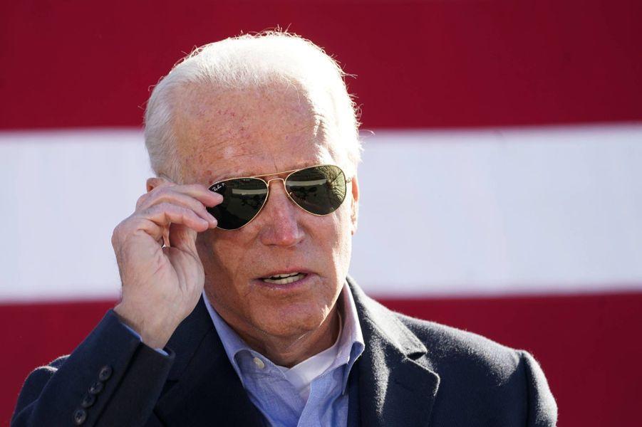 Joe Biden à Monaca, en Pennsylvanie, le 2 novembre 2020.